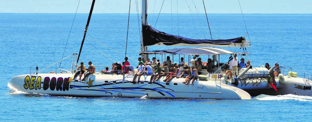 Madeira spectacular land & sea pack tour on open roof 4x4 with dolphin watching