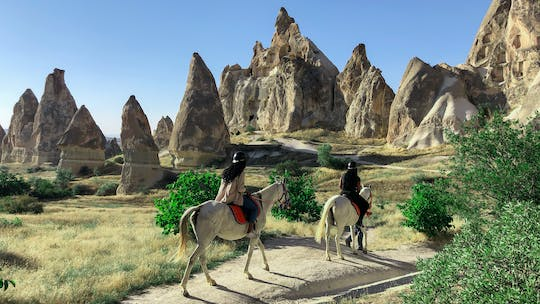 Horse riding experience in Cappadocia's valleys