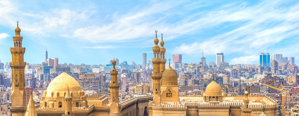 Full-day Cairo tour with Egyptian Museum, Mohamed Ali and Sultan Hassan Mosque