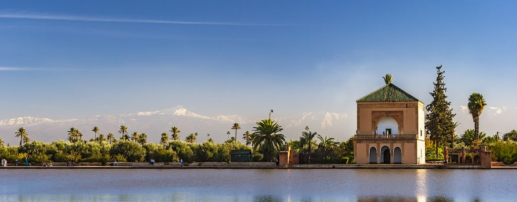 Rondleiding langs plaatsen en monumenten in Marrakesh