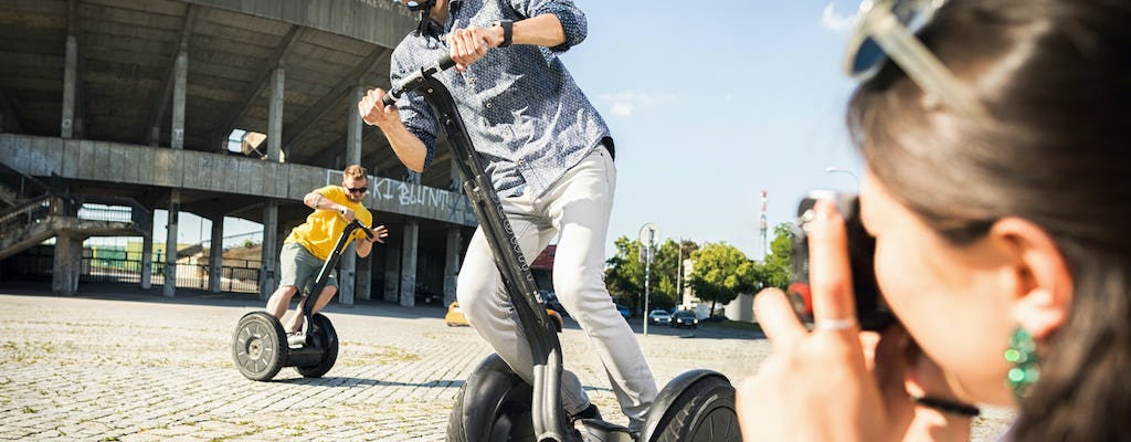 Prague Segway tour with beer tasting