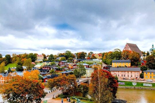 Visite privée d'Helsinki et de la vieille ville de Porvoo