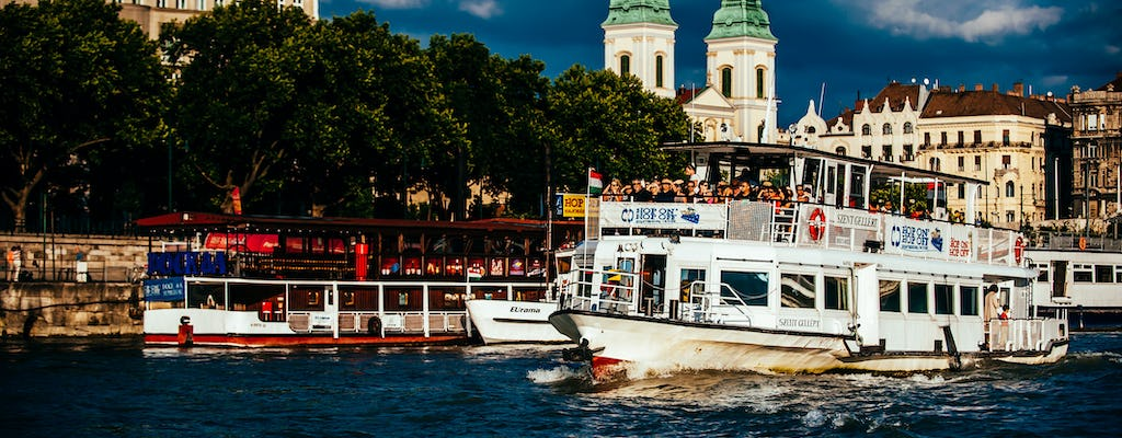 Budapest sightseeing Danube river cruise with unlimited 24 hour ticket