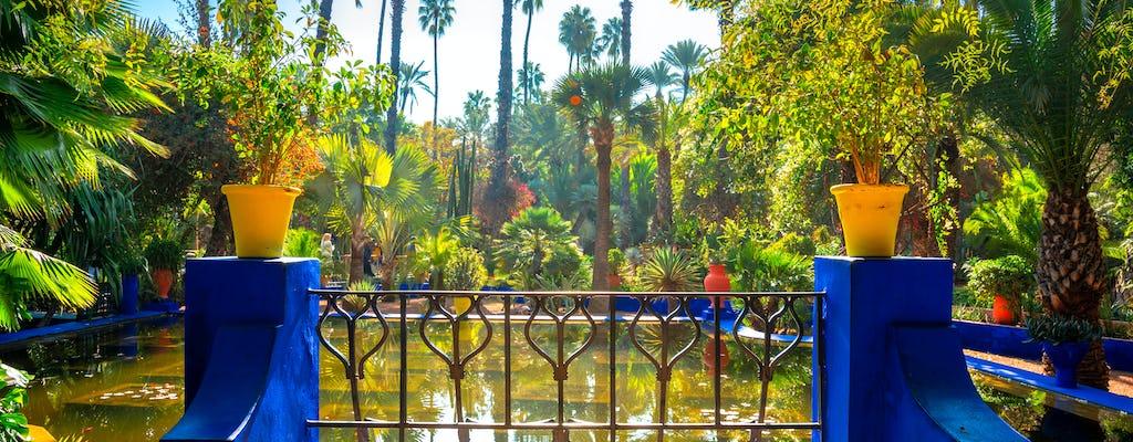 Tour di 3 ore dei giardini di Marrakech