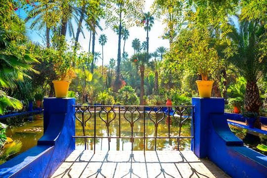 3-Hour tour of Marrakech Gardens