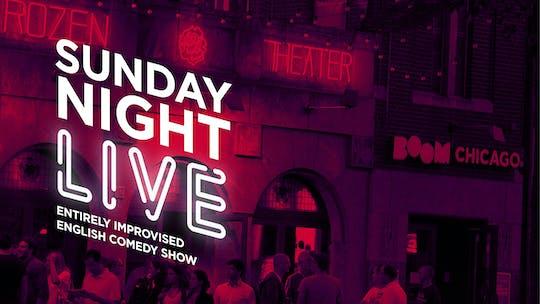 Sunday Night Live show de comédia improvisada