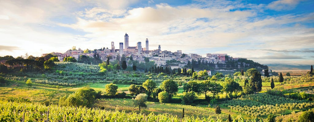 Private day trip to Siena, San Gimignano and Pisa from Florence
