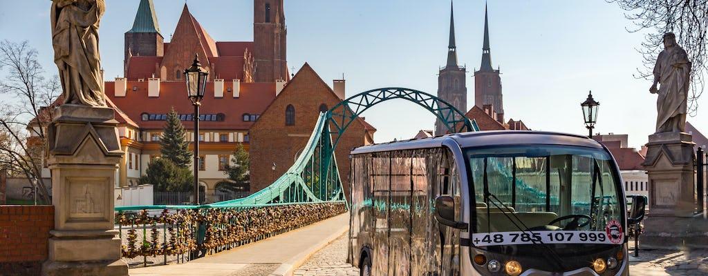 Recorrido por Wroclaw en auto eléctrico