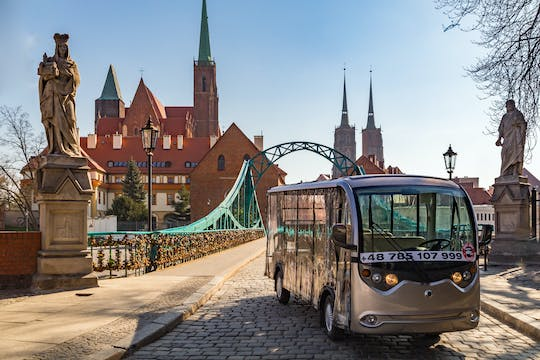 Tour through Wroclaw by electric car