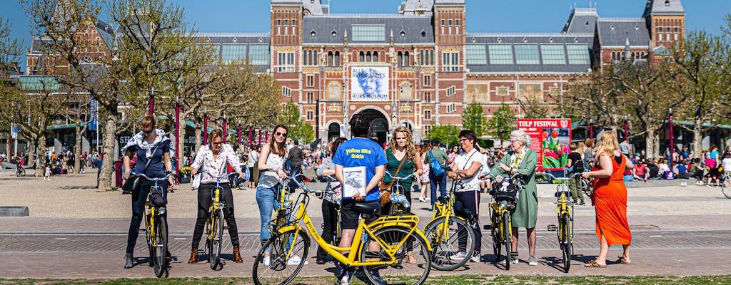 Tour en bicicleta por la ciudad para grupos pequeños de Ámsterdam