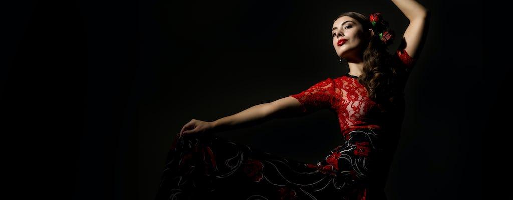 Pokaz flamenco w Torres Bermejas