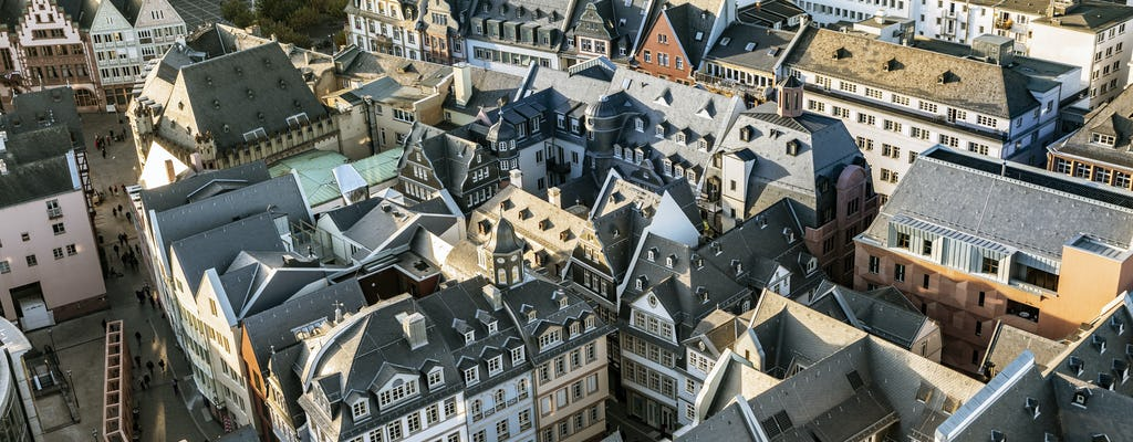 Highlights and the new old town guided city walk in Frankfurt