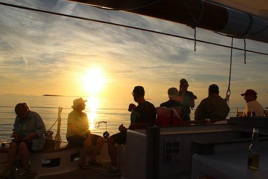 Sunset Sail on Schooner America 2.0