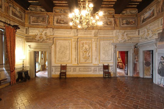 Private tour of the Painted House and Pongelli Palace in Todi