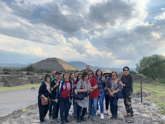 Teotihuacan und Guadalupe Shrine private Tour