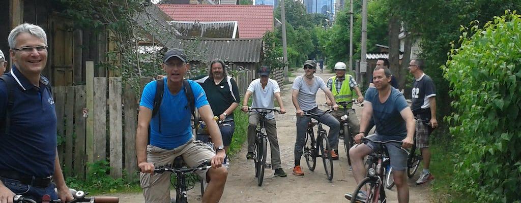 Полный день обзорная экскурсия по Вильнюсу на велосипеде