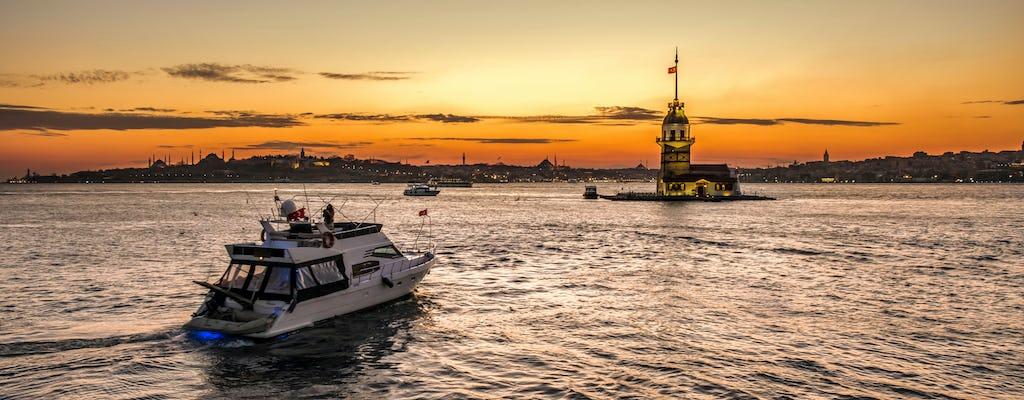 Яхта частная круиз по Босфору