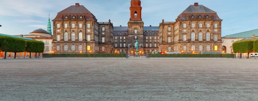 Copenhagen city and Christiansborg Palace private tour