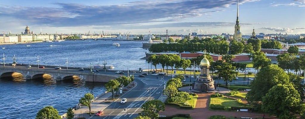 Passeio turístico a pé por São Petersburgo