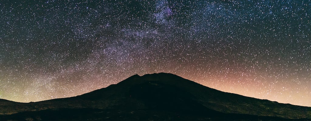 Stargazing on Mount Teide with dinner