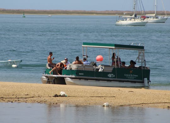 Ria Formosa Natural Park 4 islands tour
