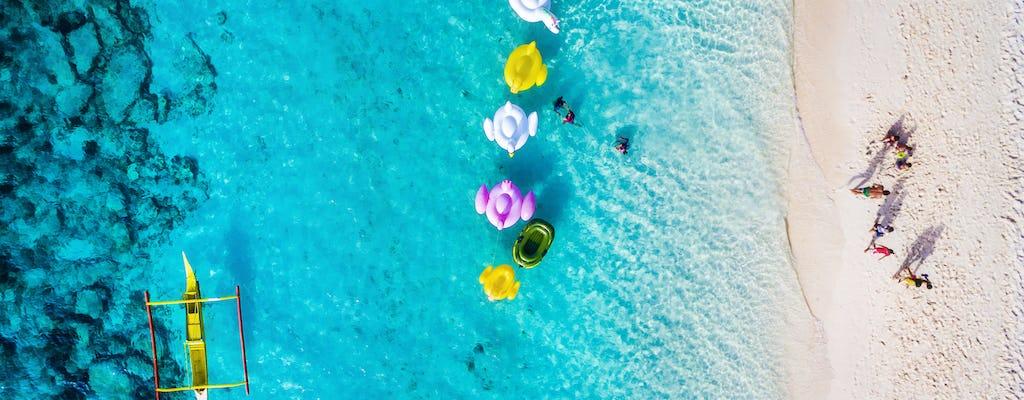 Ilha de Boracay pulando