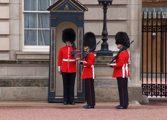 Wycieczka po królewskim Londynie ze zmianą warty