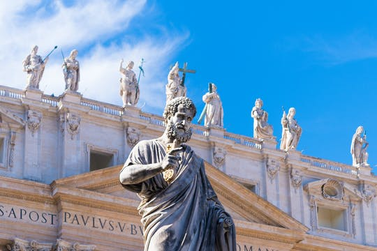 St. Peter's Basilica guided tour with fast-track entrance