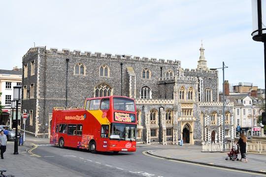 Hop-on-Hop-off-Bustour durch Norwich