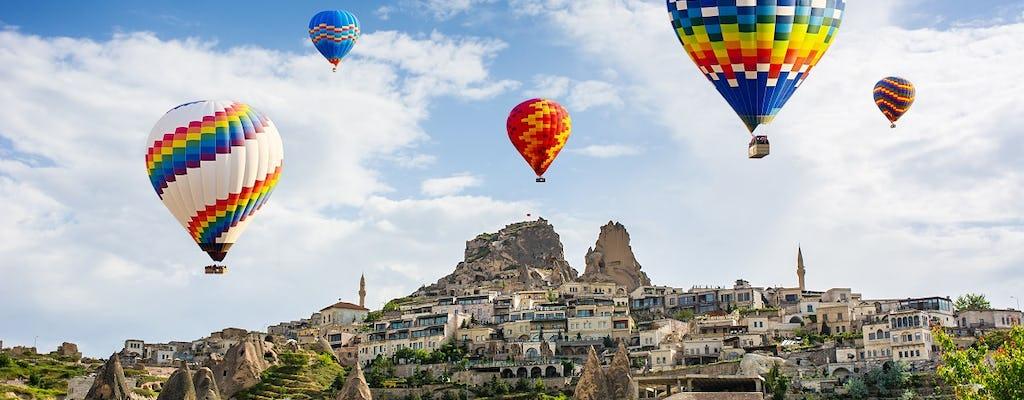 Lot balonem w Kapadocji z transferem z lotniska