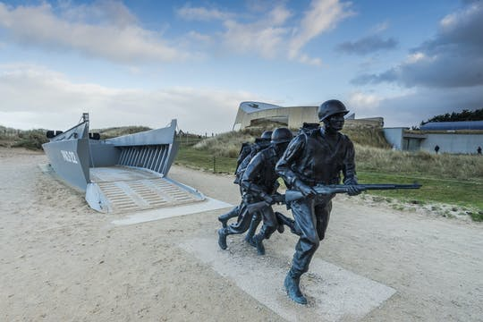 Private excursion to Normandy D-Day beaches and memorials