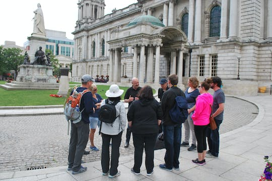 The History of the Troubles walking tour of Belfast