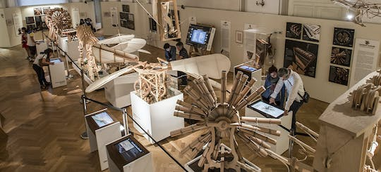 Tickets for 'Leonardo3. The World of Leonardo' interactive exhibition