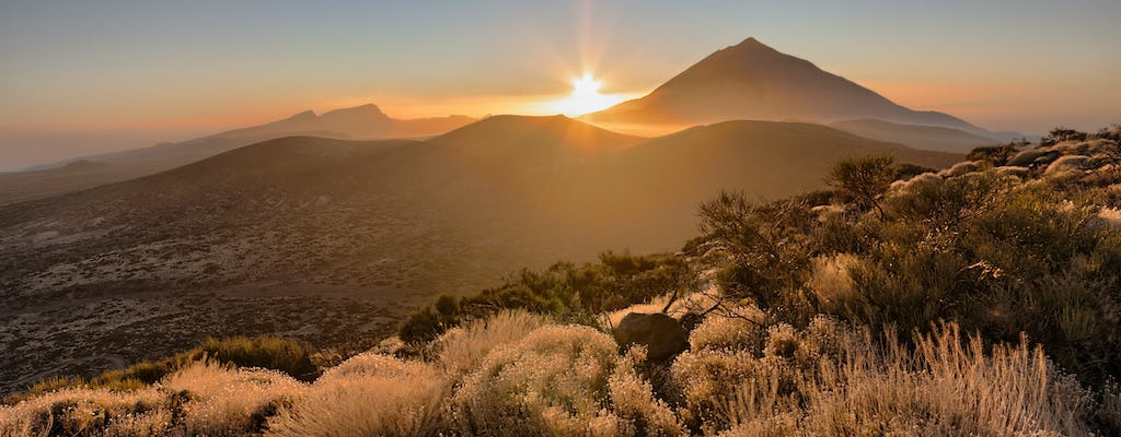 Quad tour of Teide at sunset