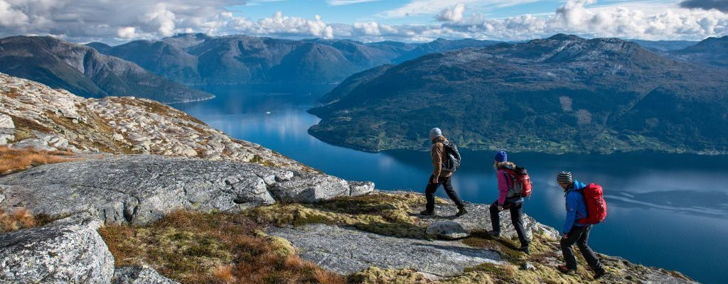 Jednodniowa wycieczka do Hardangerfjord z samodzielnej wycieczki w Bergen