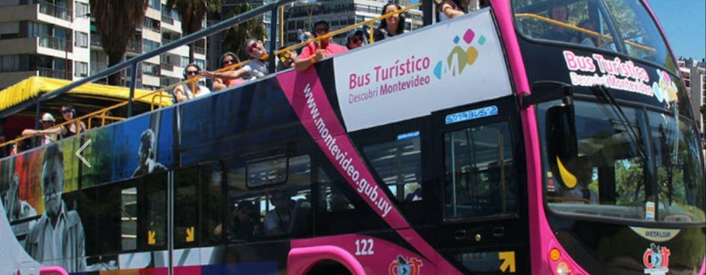 24-hour hop-on hop-off Montevideo bus tour