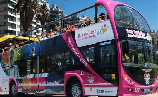24-uurs hop on, hop off-bustour door Montevideo