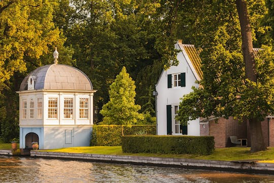 Private sunset dinner cruise on Vecht river from Utrecht