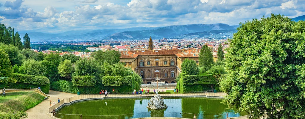 Pitti Palace and Boboli Gardens private tour for families