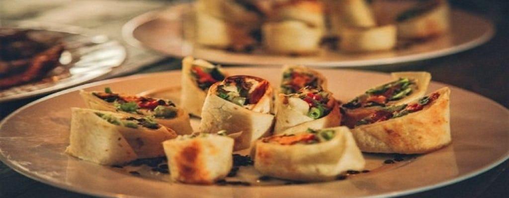 Excursão culinária vegana premium em Tel Aviv