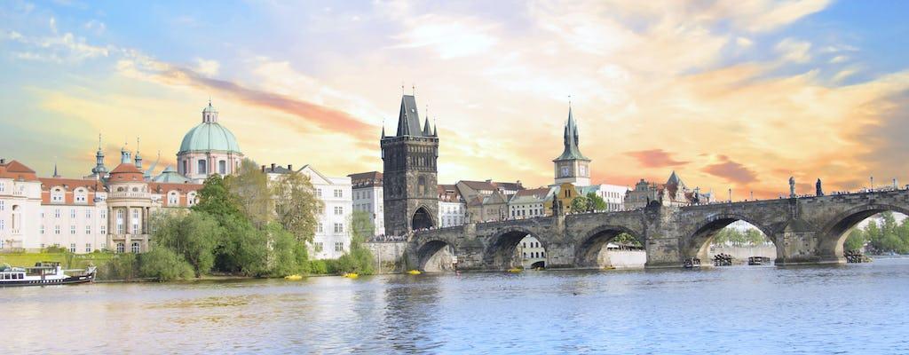 Prague city cruise