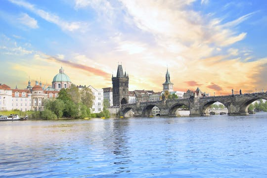 Prague city cruise