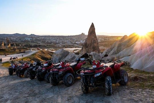 Sunset quad safari in Cappadocia