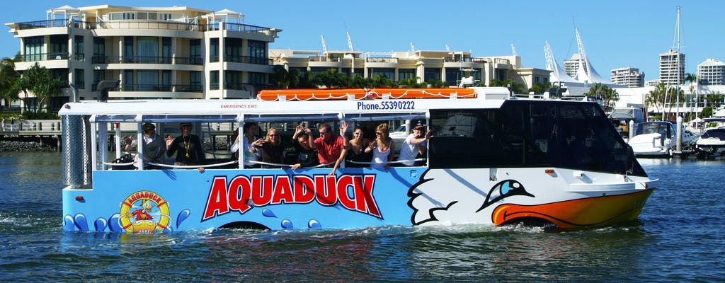 Aquaduck city and river tour