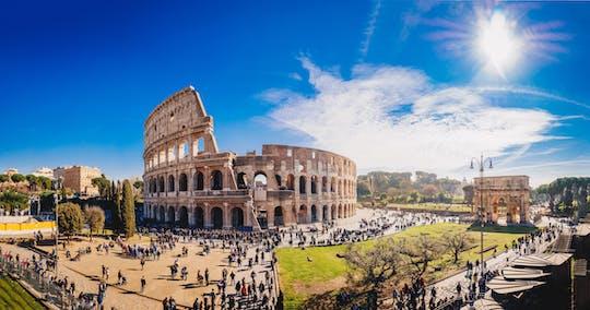 Wycieczka do Koloseum i na wzgórze Palatyn z pierwszeństwem wejścia