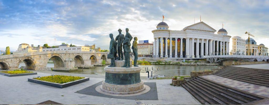 Neoklasyczna wycieczka piesza po Skopje