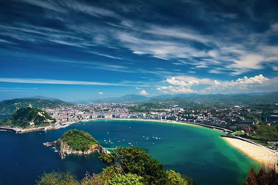 San Sebastian and Biarritz full-day tour from Bilbao