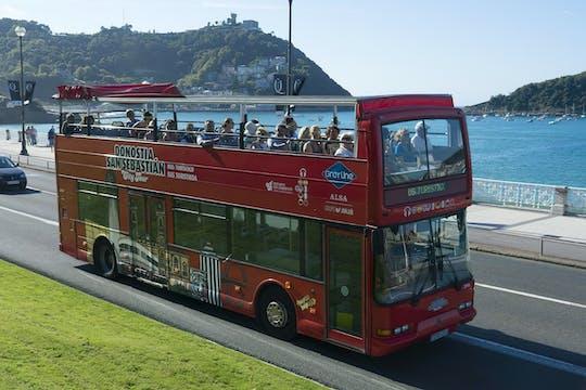 San Sebastian city tour hop-on hop-off bus tickets