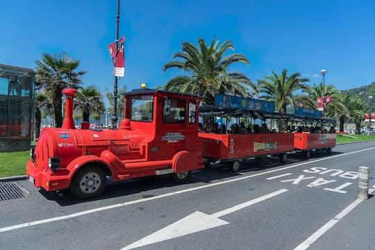 San Sebastian city train tour