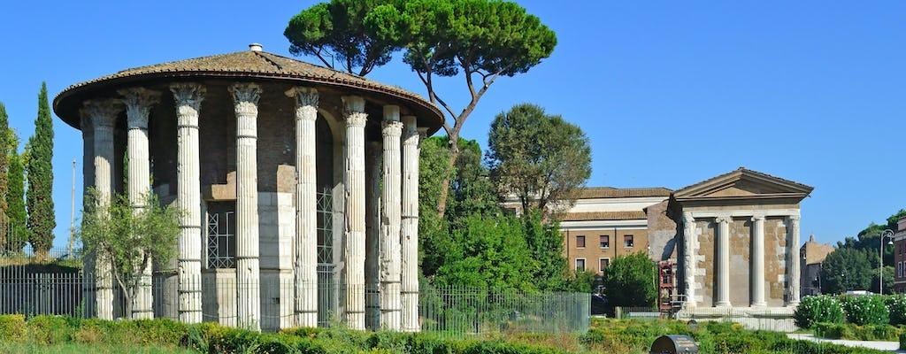 Rzymskie podziemne bazyliki i wycieczka piesza Foro Boario